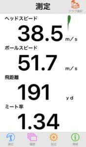 YONEX CB701アイアン 7Iの飛距離