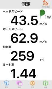 G410SFTドライバーの飛距離