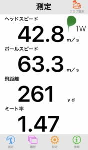 RS RED ドライバー飛距離