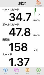 TW-MB ROSE PROTO IRONS飛距離