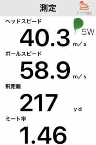 ヤマハRMX20FW飛距離データ