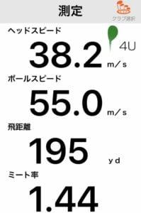 タイトリストU510UTアイアンの飛距離性能